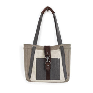 NORA SHOULDER BAG, STONE