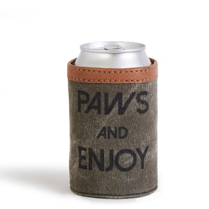 PAWS AND ENJOY CAN COVER