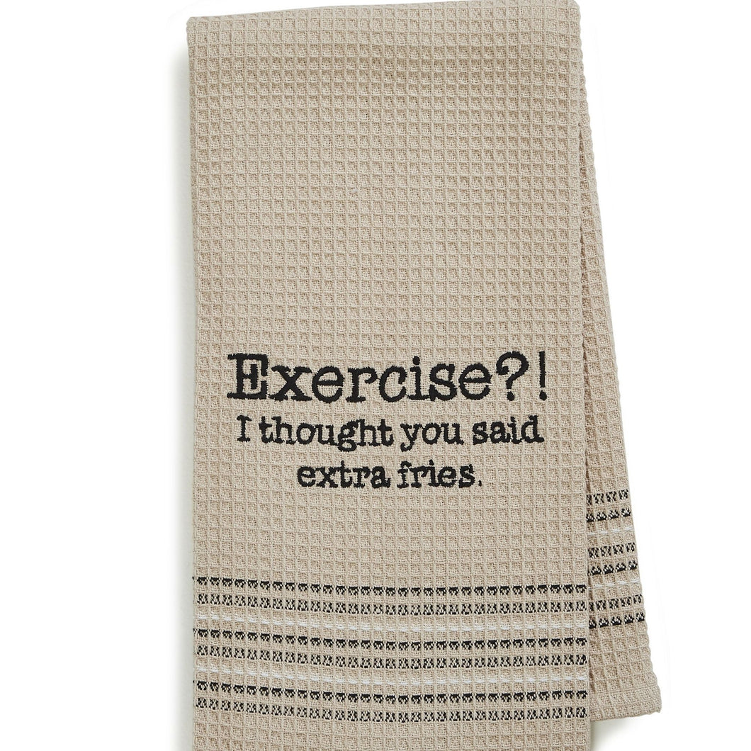 EXERCISE DISHTOWEL- SET OF 2