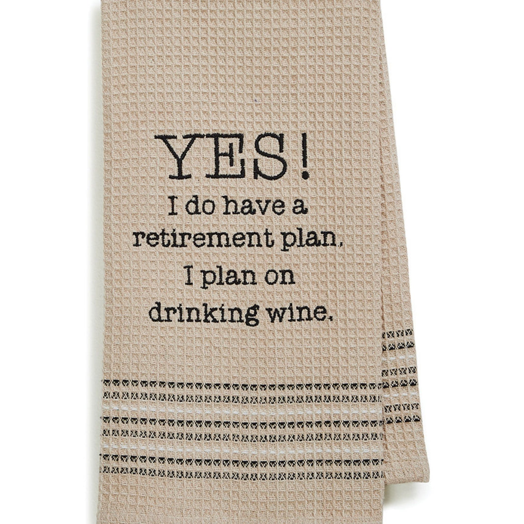 Yes Dishtowel