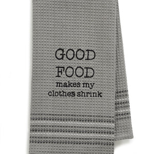 Good Food Dishtowel- Set Of 2, MH-187
