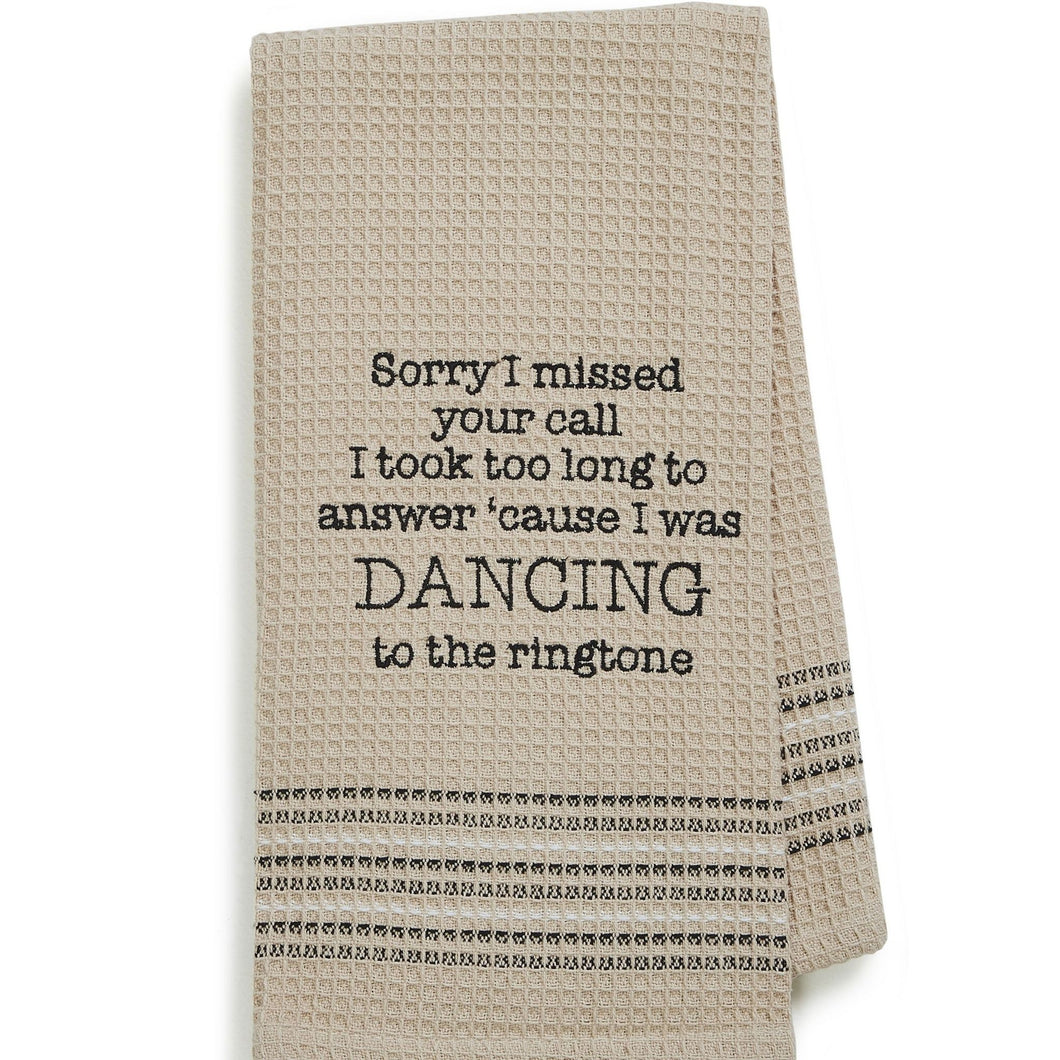 DANCING DISHTOWEL- SET OF 2
