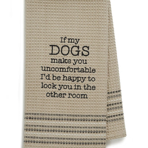 HAPPY DOG DISHTOWEL- SET OF 2