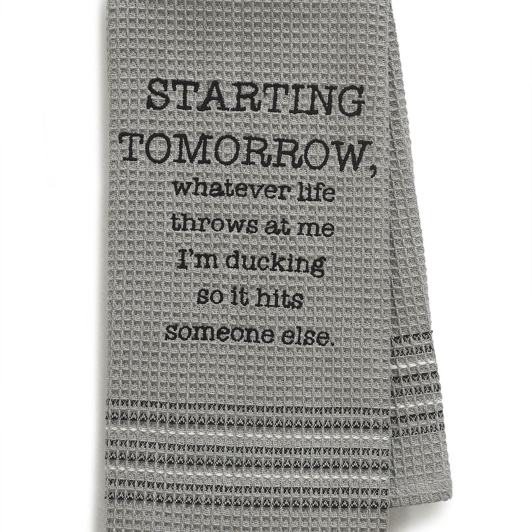 TOMORROW DISHTOWEL- SET OF 2
