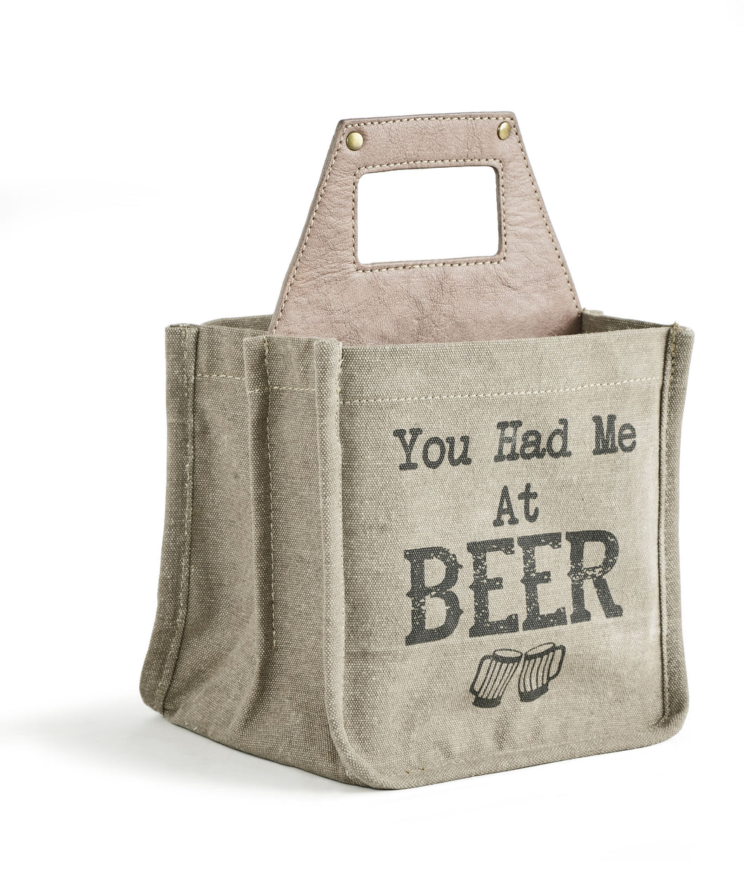YOU HAD ME BEER CADDY