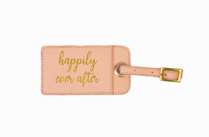 HAPPILY EVER AFTER LUGGAGE TAG