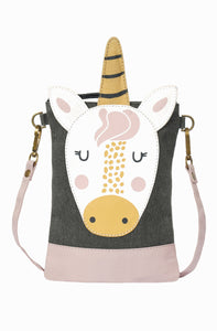 Princess Unicorn Kids Sml. Crossbody, M-5877