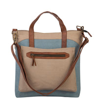 Load image into Gallery viewer, FARRAH CONVERTIBLE TOTE, SKY BLUE