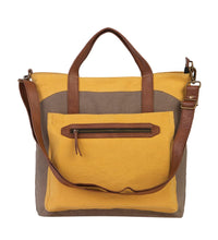 Load image into Gallery viewer, FARRAH CONVERTIBLE TOTE, GOLDENROD