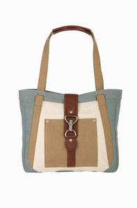 NORA SHOULDER BAG, SKY BLUE