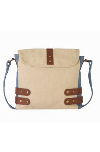 BUCKLED UP CROSSBODY, DUSTY BLUE