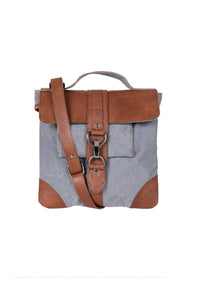 Reed Crossbody, Blue Fog