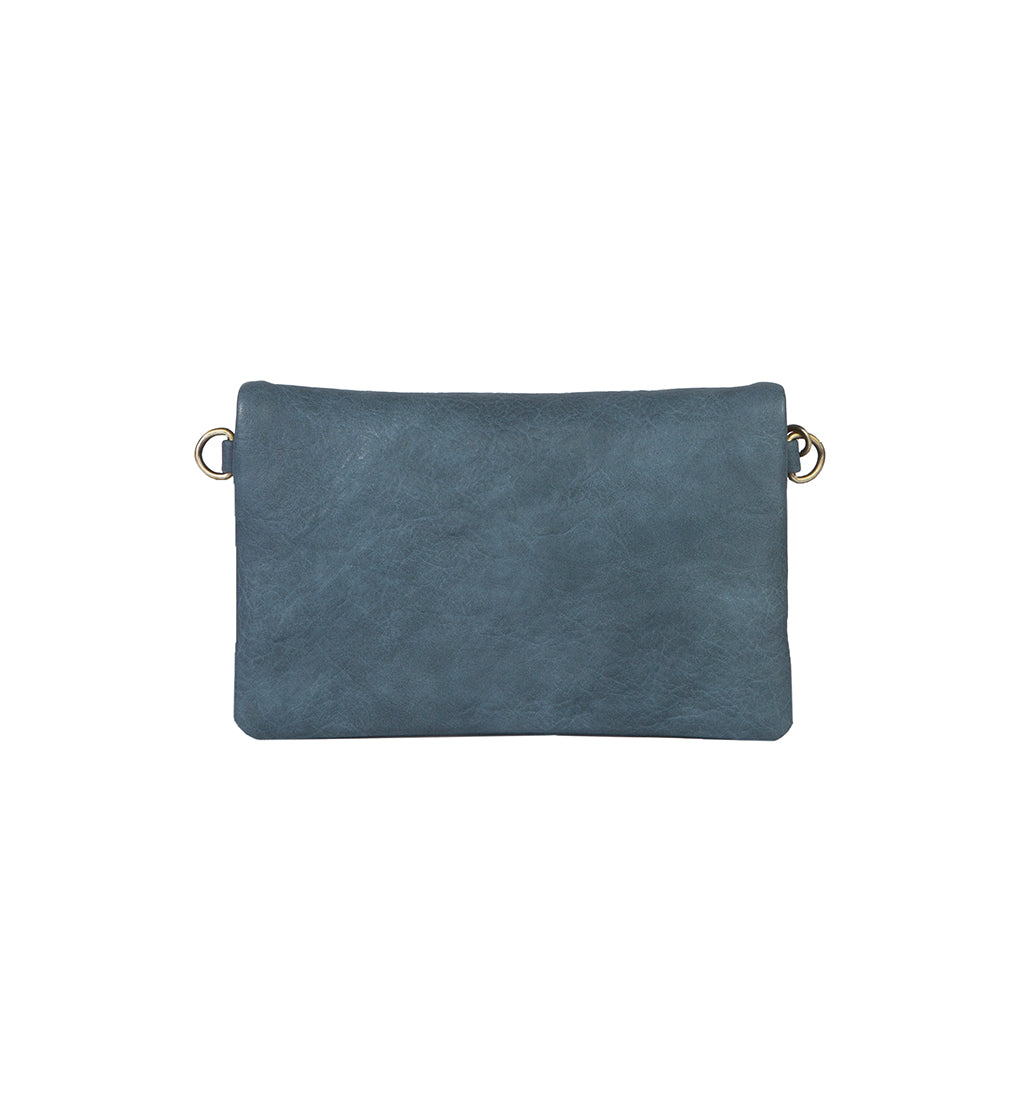 CHLOE CONVERTIBLE CROSSBODY, DUSTY BLUE