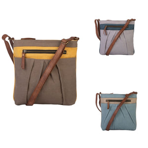 ISLA CROSSBODY, GOLDENROD