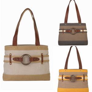 Rowen  Handbag, Natural