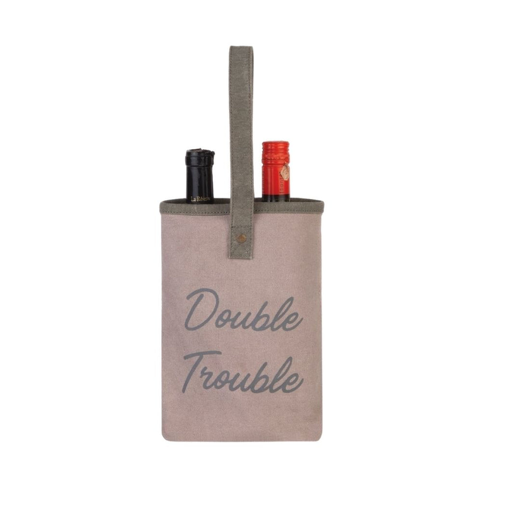 DOUBLE TROUBLE DOUBLE WINE BAG