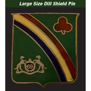 69th Regiment Distinctive Unit Insignia, Regulation Size