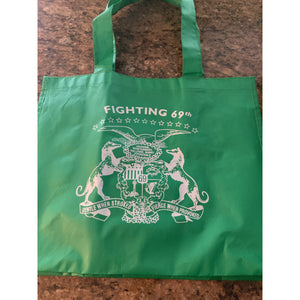 69th Regiment Shopping Bag, Green, Plastic