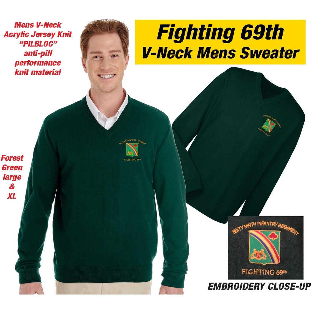 69th Regiment Sweater, Green