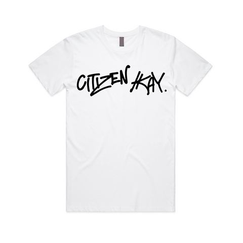 CK Street Art T-Shirt (White / Black)