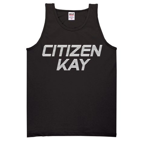 CK Retro Singlet (Black / White)