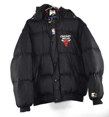 Vintage Chicago Bulls Down Coat