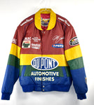 Vintage Leather Jeff Hamilton Dupont Racing Jacket