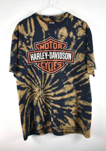 Vintage Harley Chicago T shirt Reworked