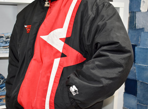 Vintage Chicago Bulls Coat