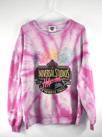 Vintage Universal Hollywood Fireworks Crew Neck Reworked
