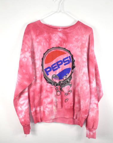 Vintage Reworked Pepsi Crew Neck