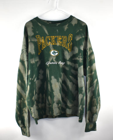 Vintage Green Bay Crew Neck Reworked