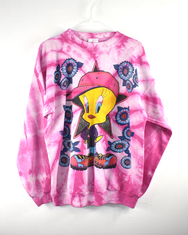 Vintage Tweety Bird Crew Neck Reworked