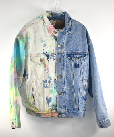 Vintage Carhartt Denim Jacket Reworked
