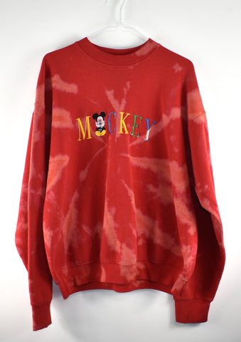 Vintage Mickey Crew Neck Reworked