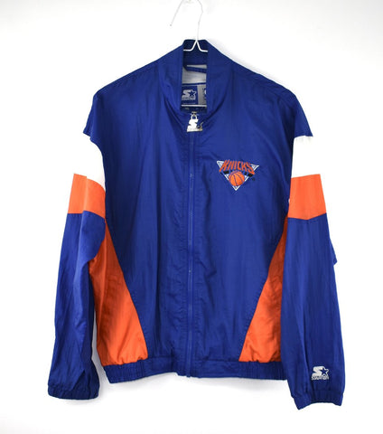 VINTAGE KNICKS STARTER WINDBREAKER