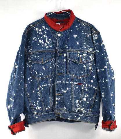 Vintage Tommy Jean Jacket Reworked