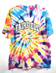 Vintage Tie Dye T Shirt Crazy Color Swirl