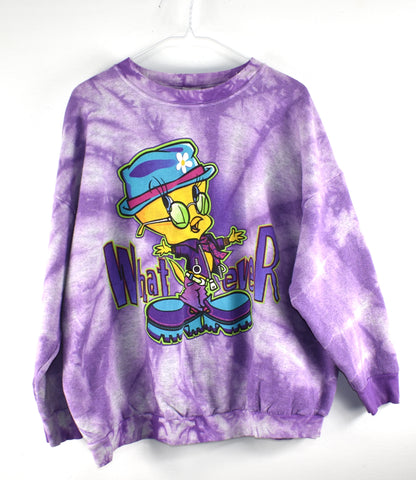 Vintage W E  Tweety Crew Neck Reworked