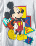 Vintage Mickey Block Spell Out Oversized Dress