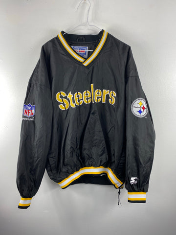 Vintage Starters Steelers Pull Over