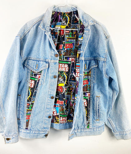 Vintage Reworked Levi Star Wars Jean Jacket