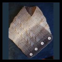 Knitting Pattern: Easy Collar Scarf