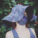 Niva sun hat sewing pattern