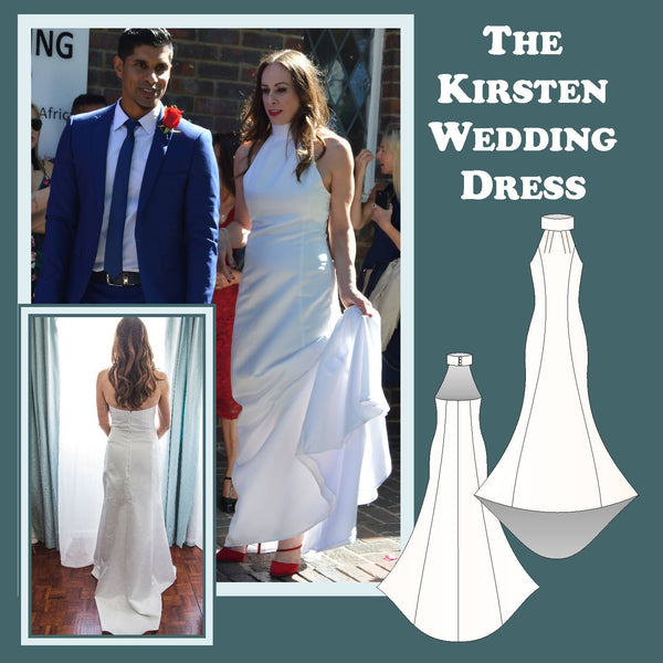 The Kirsten Wedding Dress Sewing Pattern