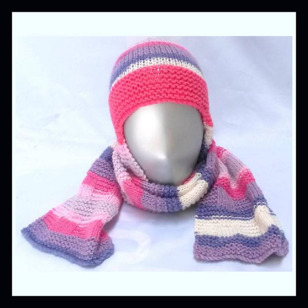 The Beanie Scarf Knitting Pattern