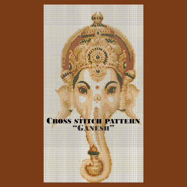 Cross Stitch Pattern: Ganesh