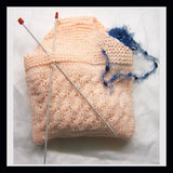 Knitting Pattern: Knitters Wrist Bag