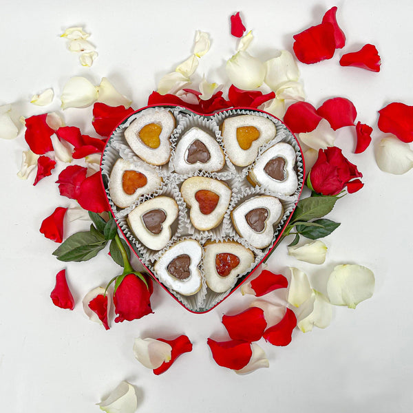 Valentine's Day Special Big Handcrafted Cookies (20 pc) - FREE SHIPPING