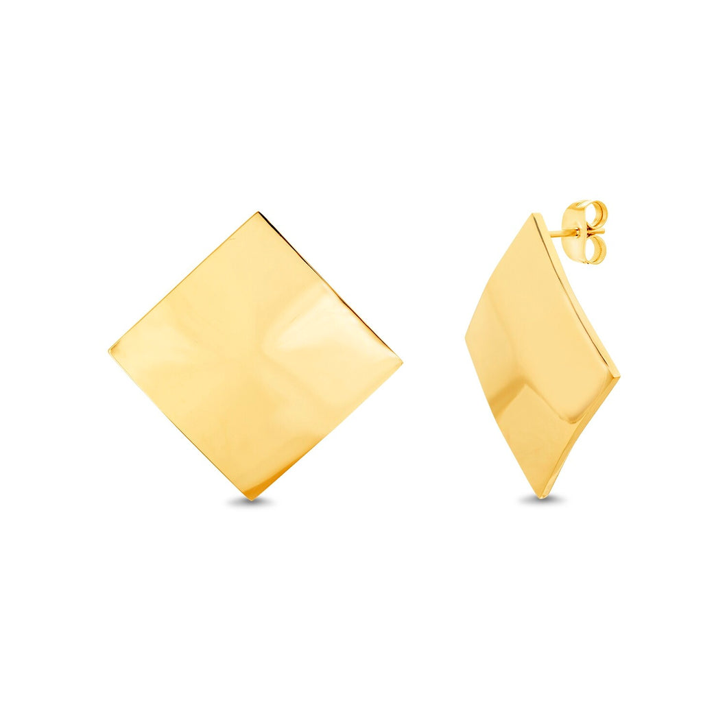 Aretes Golden Cusco
